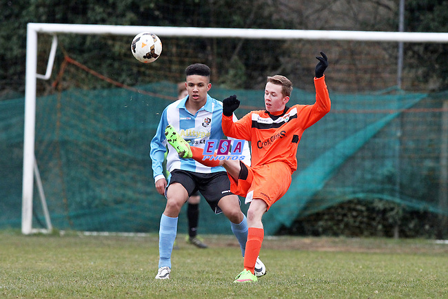 LORDSWOOD v DARTFORD<br /> KENT YOUTH LEAGUE U15 CENTRAL SUNDAY 22ND FEB 2015