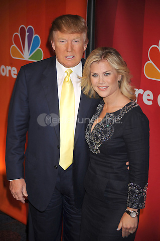 Donald Trump and Alison Sweeney at the 2010 NBC Upfront presentation at The Hilton Hotel in New York City. May 17, 2010.. Credit: Dennis Van Tine/MediaPunch