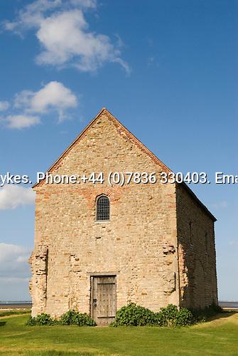 "Bradwell on Sea. ""St Peter on the Wall"" church. Celtic Chapel. Essex. 2009"