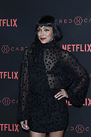 "LOS ANGELES - FEB 1:  Tamara Taylor at the ""Altered Carbon"" Season 1 Premiere Screening at the Mack Sennett Studios on February 1, 2018 in Los Angeles, CA"