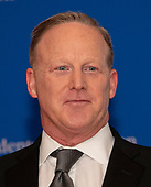 Former White House Press Secretary Sean Spicer arrives for the 2019 White House Correspondents Association Annual Dinner at the Washington Hilton Hotel on Saturday, April 27, 2019.<br /> Credit: Ron Sachs / CNP<br /> <br /> (RESTRICTION: NO New York or New Jersey Newspapers or newspapers within a 75 mile radius of New York City)