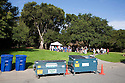 "Volunteers gathered at Rotary Park in the City of Millbrae to participate in California Coastal Cleanup Day on 9/19/09. Participants cleaned up inland locations throughout the city as well as at Bayfront Park on the San Francisco Bay shoreline. The inland cleanup efforts were important because, according to the California Coastal Commission, ""past Coastal Cleanup Day data tell us that most (between 60-80 percent) of the debris on our beaches and shorelines comes from inland sources, traveling through storm drains or creeks out to the beaches and ocean. Rain or even something as simple as hosing down a sidewalk can wash cigarette butts, bits of styrofoam, pesticides, and oil into the storm drains and out to the ocean."" The California Coastal Cleanup Day (http://www.coastal.ca.gov/publiced/ccd/ccd.html) is sponsored by the California Coastal Commission and is a part of the International Coastal Cleanup organized by The Ocean Conservancy."