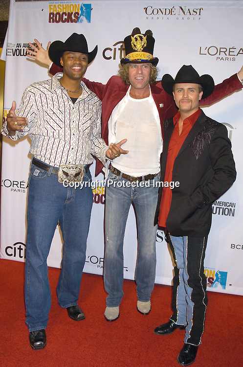 Cowboy Troy, Big and Rich ..at the Conde Nast Media Group Fashion Rocks second annual live concert on September 8, 2005 at Radio City Music Hall. ..Photo by Robin Platzer, Twin Images