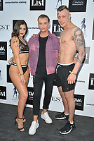 Harry Derbidge at The List Celebrity Mixer dating app party, FEST Camden, Chalk Farm Road, London, England, UK, on Wednesday 03rd July 2019.<br /> CAP/CAN<br /> ©CAN/Capital Pictures