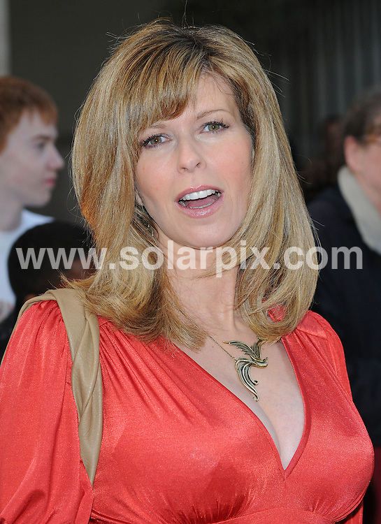"""**ALL ROUND PICTURES FROM SOLARPIX.COM**.**WORLDWIDE SYNDICATION RIGHTS**.Authors and celebrities arrive for the Galaxy British Book Awards or """"Nibbies"""" at the Grosvenor House Hotel in London..This pic:  Kate Garraway .JOB REF:  8765    SSD     DATE:  04.04.09.**MUST CREDIT SOLARPIX.COM OR DOUBLE FEE WILL BE CHARGED**.**ONLINE USAGE FEE GBP 50.00 PER PICTURE - NOTIFICATION OF USAGE TO PHOTO @ SOLARPIX.COM**.**CALL SOLARPIX : +34 952 811 768 or LOW RATE FROM UK 0844 617 7637**"""