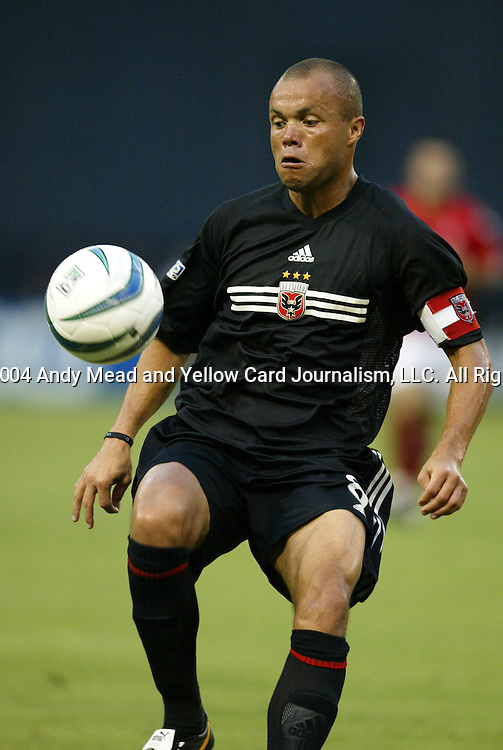 14 July 2004: Earnie Stewart. DC United defeated Nottingham Forest of England First Division 4-3 on penalties after the teams played to a 1-1 draw at RFK Stadium in Washington, DC during an international exhibition match..