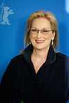 "14 February 2012 Berlin Germany. Actress MERYL STREEP poses for photographers at the photocall for the film ""The Iron Lady"" during the 62nd Berlin International Film Festival Berlinale."