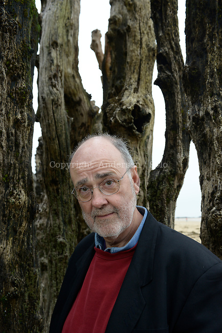 James Sallis, American writer in Saint Malo, 2013.