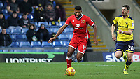 Ethan Ebanks-Landell of MK Dons in action during Oxford United vs MK Dons, Sky Bet EFL League 1 Football at the Kassam Stadium on 1st January 2018