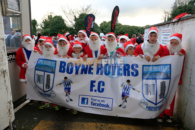 at the Drogheda Christmas Bonanza santa parade<br /> Picture: Fran Caffrey www.newsfile.ie