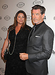 BEVERLY HILLS, CA. - April 15: Keely Shaye Smith and Pierce Brosnan arrives at the Diego Della Valle Cocktail Celebration Honoring Tod's Beverly Hills Boutique on April 15, 2010 in Beverly Hills, California.