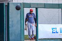 Coach de pitcher Isidro Marquez de los Mayos , durante partido3 de beisbol entre Naranjeros de Hermosillo vs Mayos de Navojoa. Temporada 2016 2017 de la Liga Mexicana del Pacifico.<br /> © Foto: LuisGutierrez/NORTEPHOTO.COM