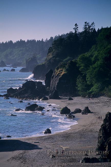 Luffenholtz Beach, Trinidad, Humboldt County, California