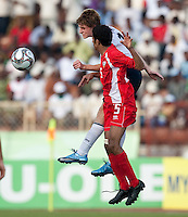 Alex Shinsky. US Under-17 Men's National Team defeated United Arab Emirates 1-0 at Gateway International  Stadium in Ijebu-Ode, Nigeria on November 1, 2009.