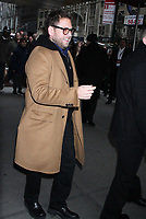 December 01, 2018 Jonah Hill attend The Contenders New York presented by Deadline at Director Guild Theatre in New York. December 01, 2018     <br /> CAP/MPI/RW<br /> &copy;RW/MPI/Capital Pictures