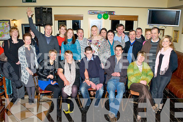 John Brendan O'Mahony, Two Mile School, Killarney who celebrated his 30th birthday with his family and friends in the Old Killarney Inn, Aghadoe on Friday night..