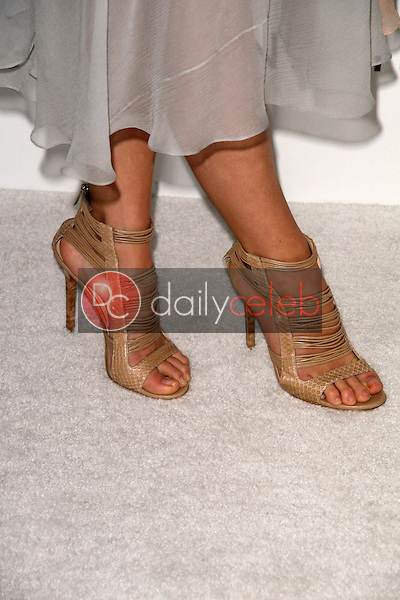 Olivia Wilde's shoes<br />at the DIC and Instyle Magazine 8th Annual Awards Season Diamond Fashion Show. Beverly Hills Hotel, Beverly Hills, CA. 01-08-09<br />Dave Edwards/DailyCeleb.com 818-249-4998