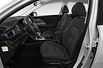 Front seat view of a 2018 KIA Niro LX PHEV 5 Door Hatchback front seat car photos