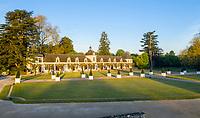 France, Indre-et-Loire (37), Chenonceaux, château et jardins de Chenonceau, l'orangerie et la cave des Dômes