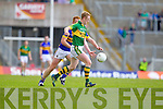 Colm Cooper, Kerry in action against George Hennigan, Tipperary in the first round of the Munster Football Championship at Fitzgerald Stadium on Sunday.