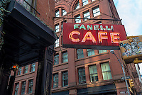 New York, NY 9 November 2014 - Fanelli Cafe in Soho