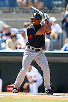 March 8, 2010:  Outfielder Ben Revere of the Minnesota Twins during a Spring Training game at Ed Smith Stadium in Sarasota, FL.  Photo By Mike Janes/Four Seam Images