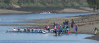 Mortlake/Chiswick, GREATER LONDON. United Kingdom. Crews boating from the foreshore At Quintin and Mortlake Anglian and Alpha Boathouses.. 2017 Vesta Veterans Head of the River Race, The Championship Course, Putney to Mortlake on the River Thames.<br /> <br /> <br /> Sunday  26/03/2017<br /> <br /> [Mandatory Credit; Peter SPURRIER/Intersport Images]