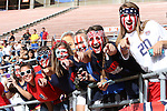 10 November 2013: U.S. fans. The United States Women's National Team played the Brazil Women's National Team at the Citrus Bowl in Orlando, Florida in an international friendly soccer match.
