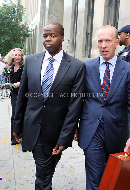 WWW.ACEPIXS.COM . . . . .  ....June 6 2011, New York City....Attorneys Kenneth P. Thompson (L) and Douglas H. Wigdor of Thompson Wigdor LLP, who are representing the victim in the sex case against Dominique Strauss-Kahn, outside the Manhattan Criminal Court Building on June 6, 2011 in New York City....Please byline: CURTIS MEANS - ACE PICTURES.... *** ***..Ace Pictures, Inc:  ..Philip Vaughan (212) 243-8787 or (646) 679 0430..e-mail: info@acepixs.com..web: http://www.acepixs.com
