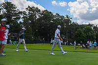 Rickie Fowler (USA) and Kevin Kisner (USA) make their wya down 3 during round 1 of the 2019 Tour Championship, East Lake Golf Course, Atlanta, Georgia, USA. 8/22/2019.<br /> Picture Ken Murray / Golffile.ie<br /> <br /> All photo usage must carry mandatory copyright credit (© Golffile | Ken Murray)