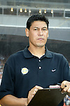 19 May 2004: Galaxy assistant coach Martin Vasquez. Los Angeles Galaxy defeated DC United 4-2 at RFK Stadium in Washington, DC during a regular season Major League Soccer game..