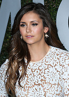 BEVERLY HILLS, CA, USA - OCTOBER 02: Nina Dobrev arrives at Michael Kors Launch Of Claiborne Swanson Franks's 'Young Hollywood' Book held at a Private Residence on October 2, 2014 in Beverly Hills, California, United States. (Photo by Xavier Collin/Celebrity Monitor)