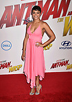 HOLLYWOOD, CA - JUNE 25: Carly Hughes arrives at the Premiere Of Disney And Marvel's 'Ant-Man And The Wasp' at the El Capitan Theatre on June 25, 2018 in Hollywood, California.