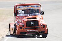 Czech driver Jiri Forman belonging Czech team Buggyra International Racing System during the fist race R1 of the XXX Spain GP Camion of the FIA European Truck Racing Championship 2016 in Madrid. October 01, 2016. (ALTERPHOTOS/Rodrigo Jimenez) /NortePHOTO /NORTEPHOTO.COM
