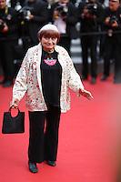Agnes Varda <br /> Festival del Cinema di Cannes 2015<br /> Foto Panoramic / Insidefoto