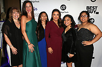 LOS ANGELES, CA - NOVEMBER 8: Corie Barry, Eva Longoria, Sponsors, at the Eva Longoria Foundation Dinner Gala honoring Zoe Saldana and Gina Rodriguez at The Four Seasons Beverly Hills in Los Angeles, California on November 8, 2018. Credit: Faye Sadou/MediaPunch