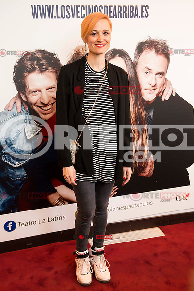 "Laura Pamplona attends to the premiere of the theater play ""Los Vecinos de Arriba"" of the director Cesc Gayt at Teatro La Latina in Madrid. April 13, 2016. (ALTERPHOTOS/Borja B.Hojas)"