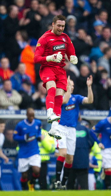 Allan McGregor launches himself into the sky