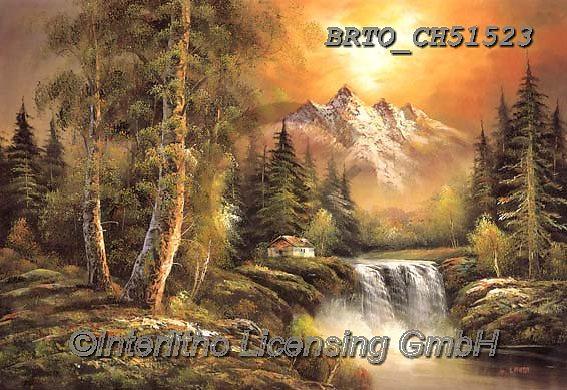 Alfredo, LANDSCAPES, LANDSCHAFTEN, PAISAJES, paintings+++++,BRTOCH51523,#l#, EVERYDAY ,puzzle,puzzles