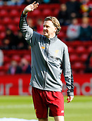 24th March 2018, Anfield, Liverpool, England; LFC Foundation Legends Charity Match 2018, Liverpool Legends versus FC Bayern Legends; Steve McManaman of Liverpool Legends