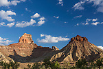 Assembly Hall Peak in the Mexican Mountain Wilderness Study Area on the San Rafael Swell in Utah.