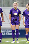 14 September 2014: LSU's Emma Fletcher (CAN). The Duke University Blue Devils hosted the Louisiana State University Tigers at Koskinen Stadium in Durham, North Carolina in a 2014 NCAA Division I Women's Soccer match. Duke won the game 1-0.
