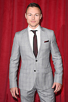 Andrew Hayden Smith<br /> arrives for the British Soap Awards 2016 at Hackney Empire, London.<br /> <br /> <br /> &copy;Ash Knotek  D3124  28/05/2016