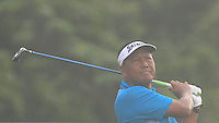 Antonio Lascuna (PHI) on the 11th tee during Round 3 of the CIMB Classic in the Kuala Lumpur Golf & Country Club on Saturday 1st November 2014.<br /> Picture:  Thos Caffrey / www.golffile.ie