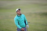 Charlie Denvir of Ireland during Day 2 / Foursomes of the Boys' Home Internationals played at Royal Dornoch Golf Club, Dornoch, Sutherland, Scotland. 08/08/2018<br /> Picture: Golffile | Phil Inglis<br /> <br /> All photo usage must carry mandatory copyright credit (&copy; Golffile | Phil Inglis)