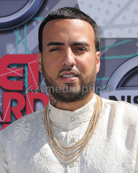 26 June 2016 - Los Angeles. French Montana. Arrivals for the 2016 BET Awards held at the Microsoft Theater. Photo Credit: Birdie Thompson/AdMedia