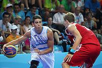 Nanjing 2014 Basquetbol 3x3 3er Argentina vs Rusia