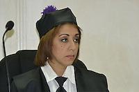 Katia Miguelina Jimenez.Juez de la 1era. sala penal de la corte de apelacion del Distrito Nacional.Fotos: Carmen Suárez/acento.com.do.Fecha: 29/08/2011.