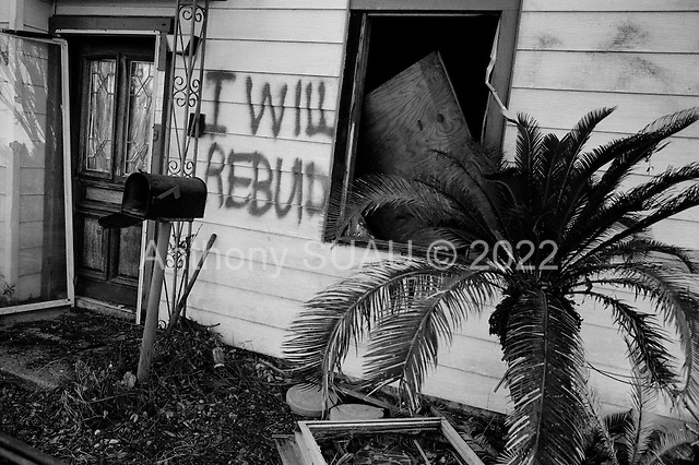 New Orleans, Louisianna.USA.November 30, 2005 ..Hurricane Katrina damage and recovery. Damage in St. Bernard's Parish.....
