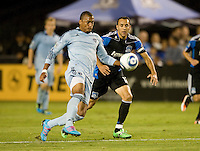 San Jose Earthquakes vs Sporting Kansas City October 01 2011